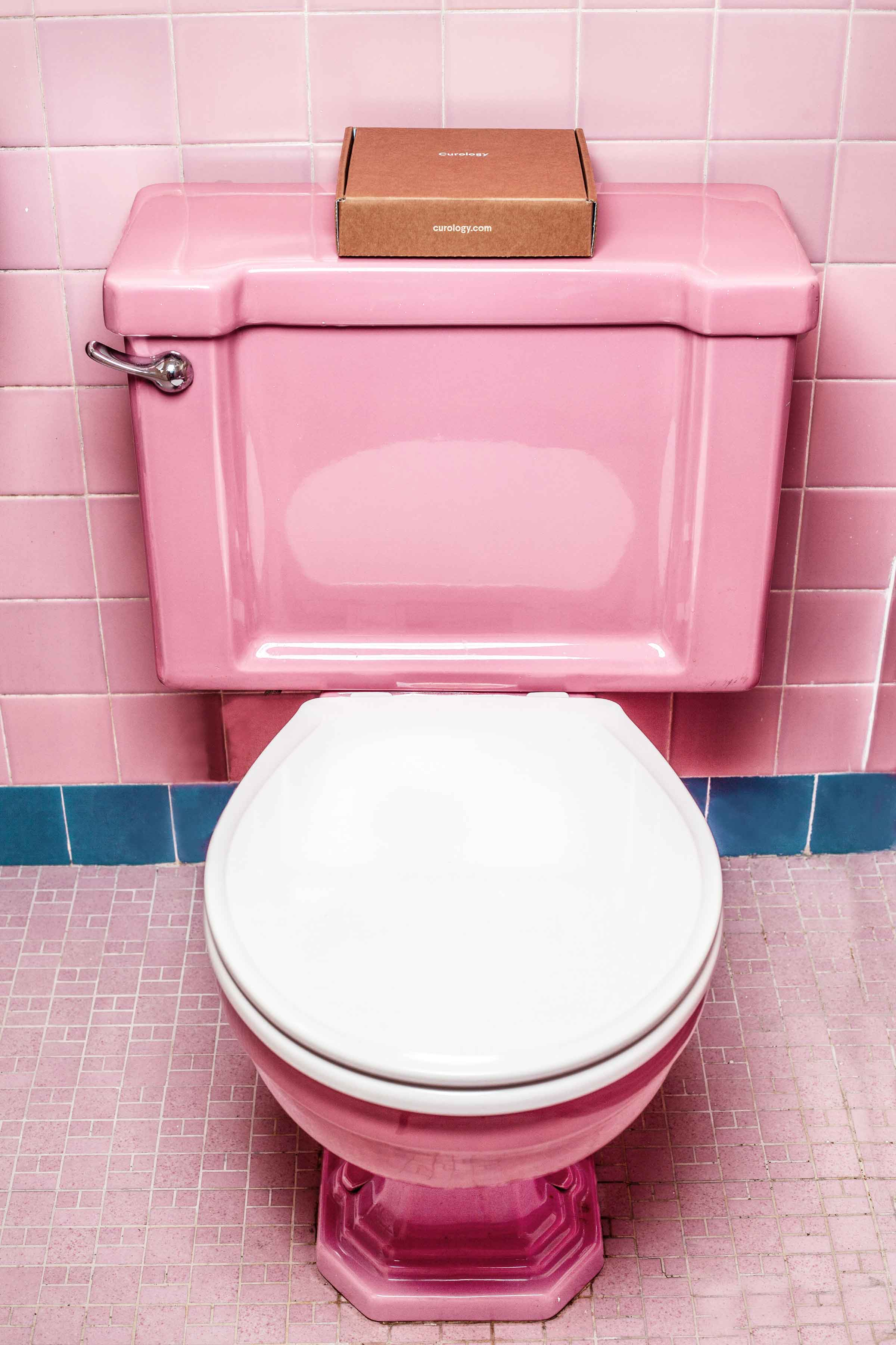 Pink Toilet and skincare tips